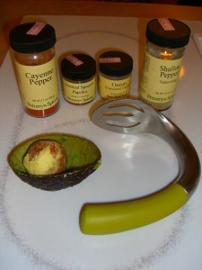 Avocado Scoop   ©Diane Eblin