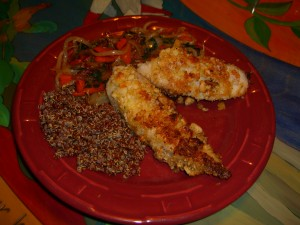 Macadamia Nut Tilapia  Diane Eblin