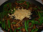 mushroom-green-bean-almonds