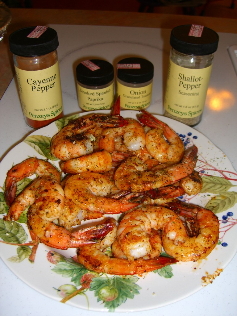 Shallot Pepper Shrimp ©Diane Eblin