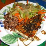 Sesame Crusted Tuna by Diane Eblin
