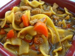 Pork Noodle Soup  ©Diane Eblin