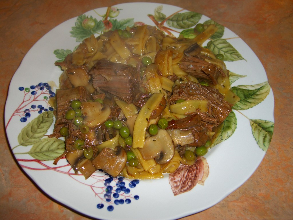 Beef and Noodles  ©Diane Eblin