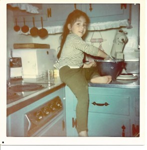 Diane cooking at 2!