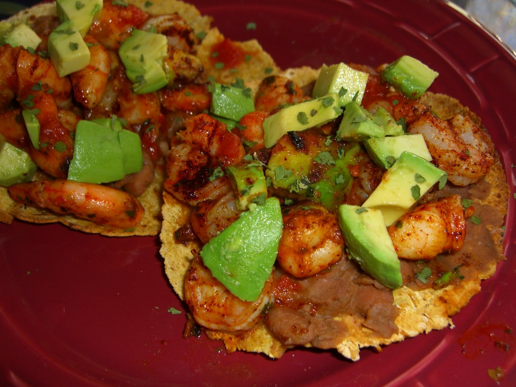 Shrimp Tostados  Diane Eblin