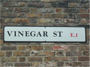 vinegar-stree-sign