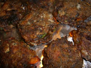 Black Bean Cakes  ©Diane Eblin