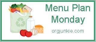 monday menu plan