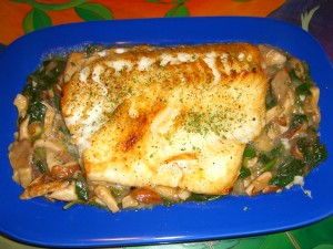Chilean Sea Bass by Diane Eblin