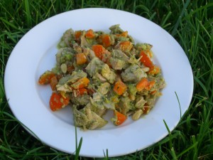 Pesto Chicken Salad      ©Diane Ebiln