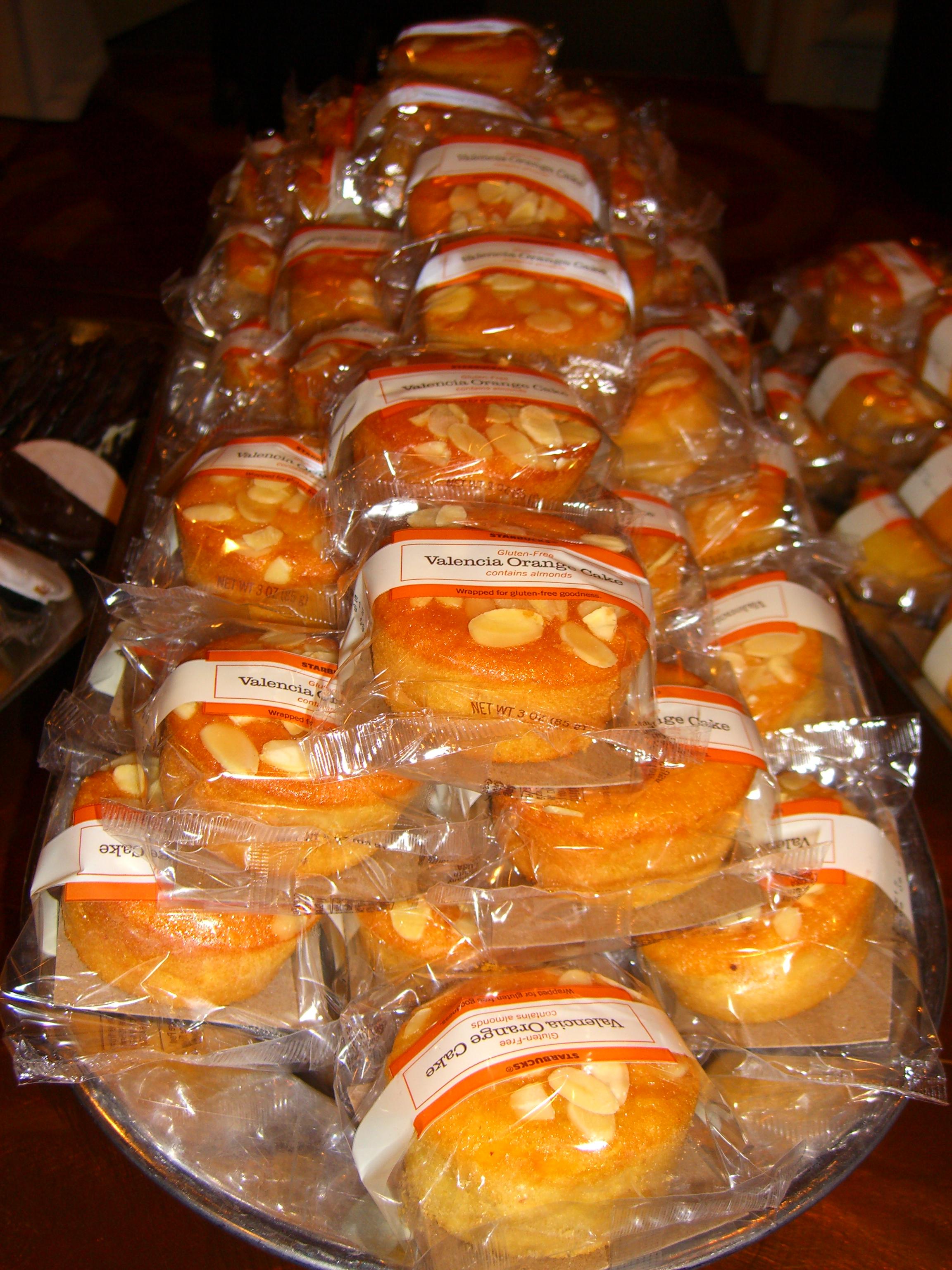 Starbucks Discontinues Gluten Free Valencia Orange Cake |
