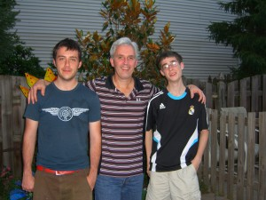 Father's Day 2009-Andy, Scott, Brad