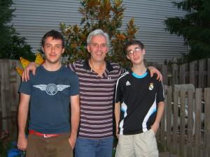 Father's Day 2009-Andy, Scott, Brad