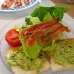 Bacon, Lettuce, Tomato, Guacamole