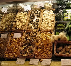 Mushrooms at Harrods by randomduck