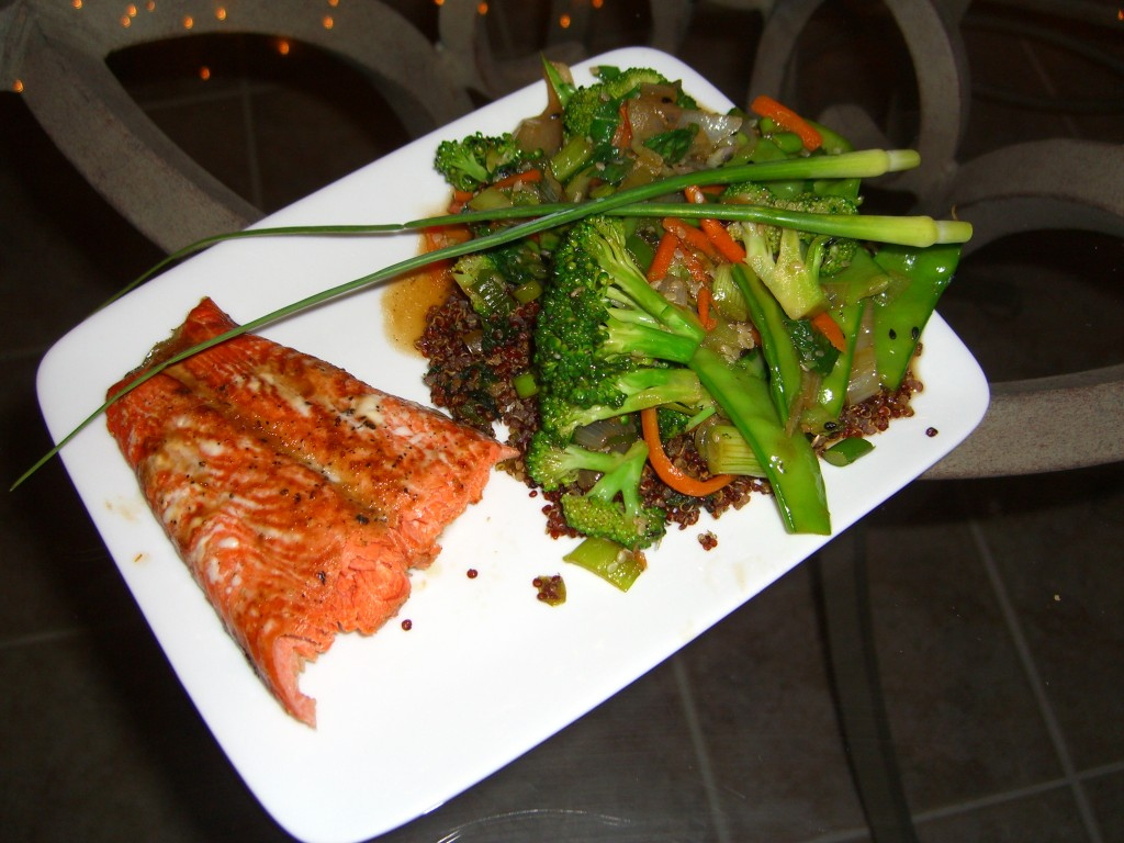 salmon-with-stir-fry