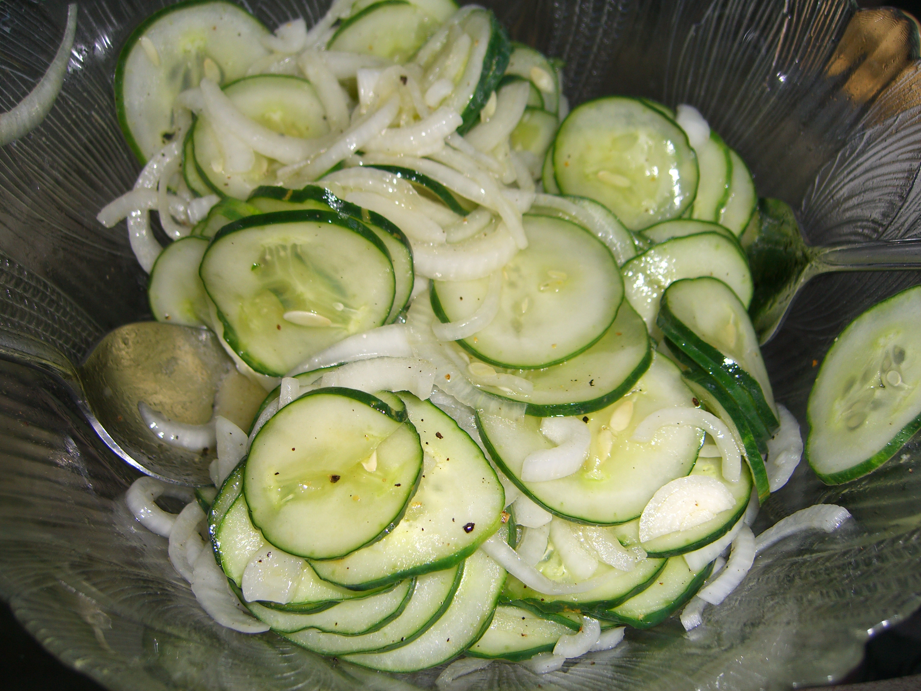 Cucumber and Onion Salad |
