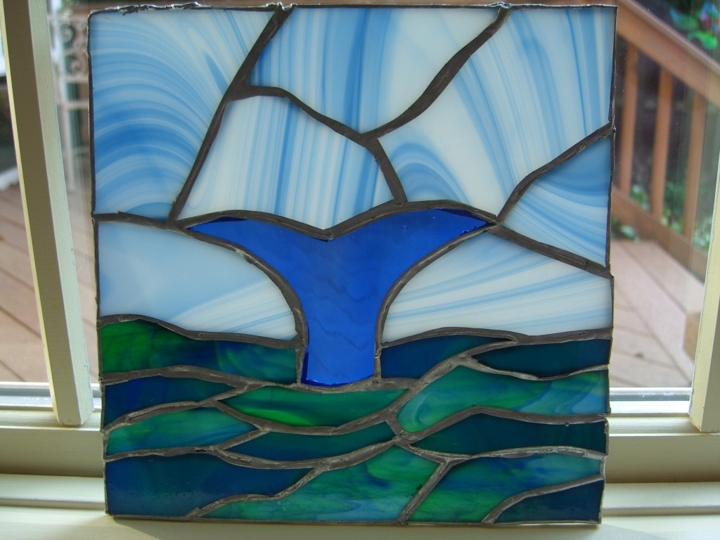 Brad's Whale Tale Stained Glass