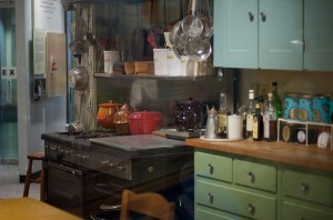 Julia Child's Kitchen at Smithsonian by Jeff Kubina