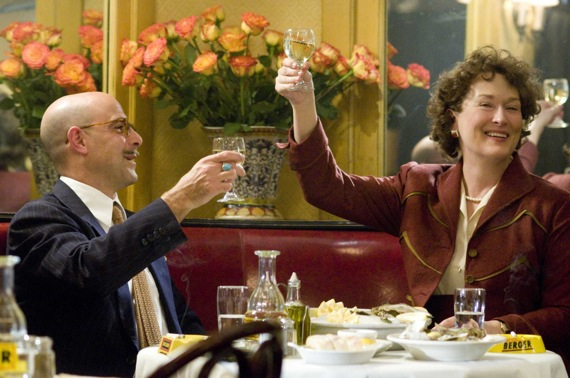 Stanley Tucci & Meryl Streep as Paul & Julia Child
