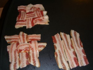 Weaving the bacon