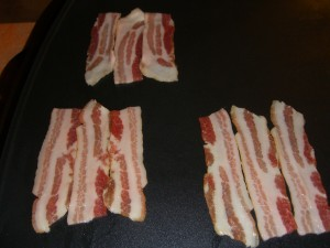 Small bacon weave step 2