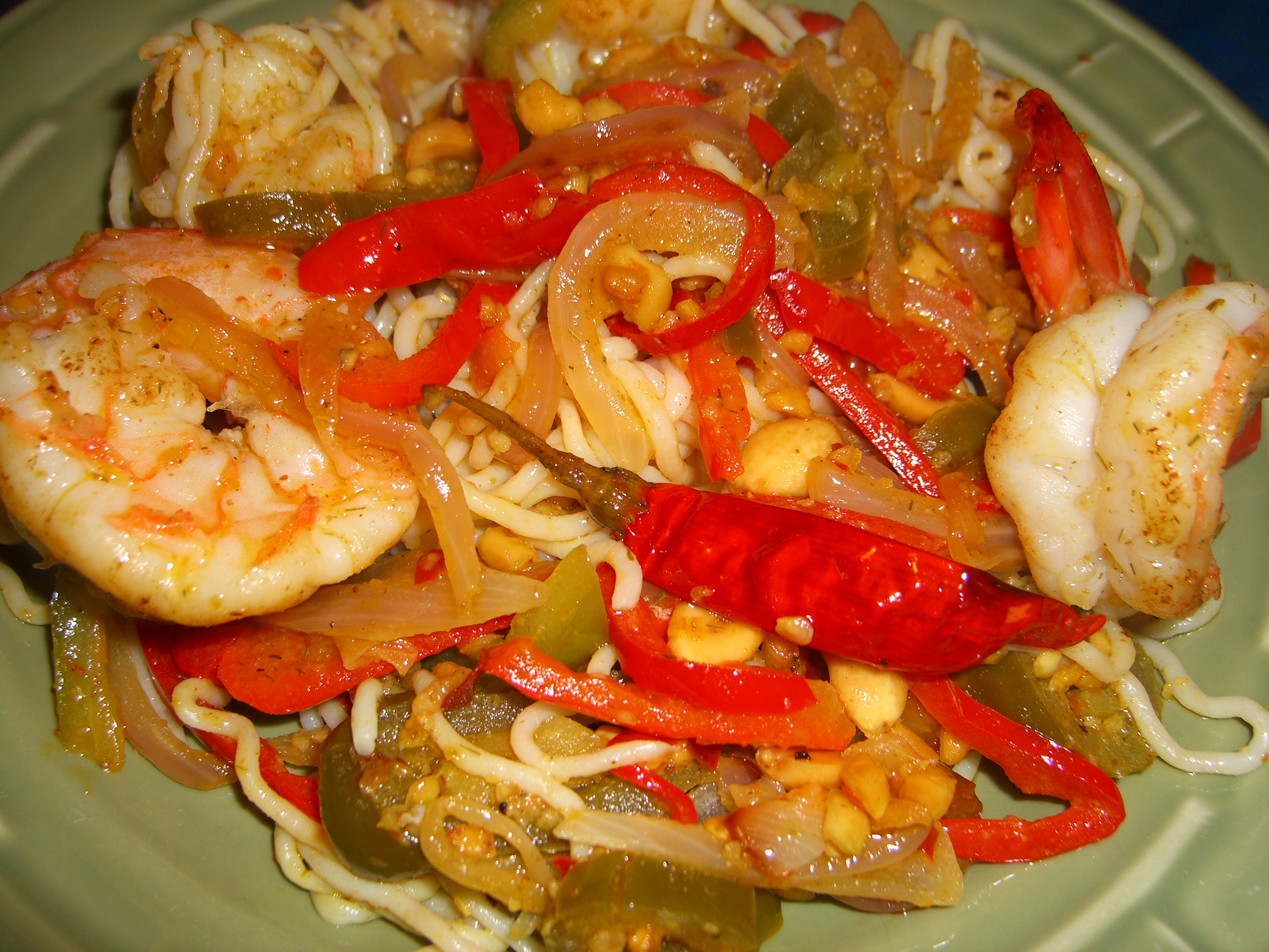 Recipe for Lemongrass Shrimp |