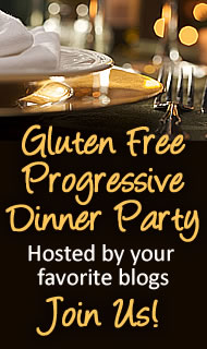 Gluten Free Dessert Progressive Dinner Party Next Week- Dec 7-11th