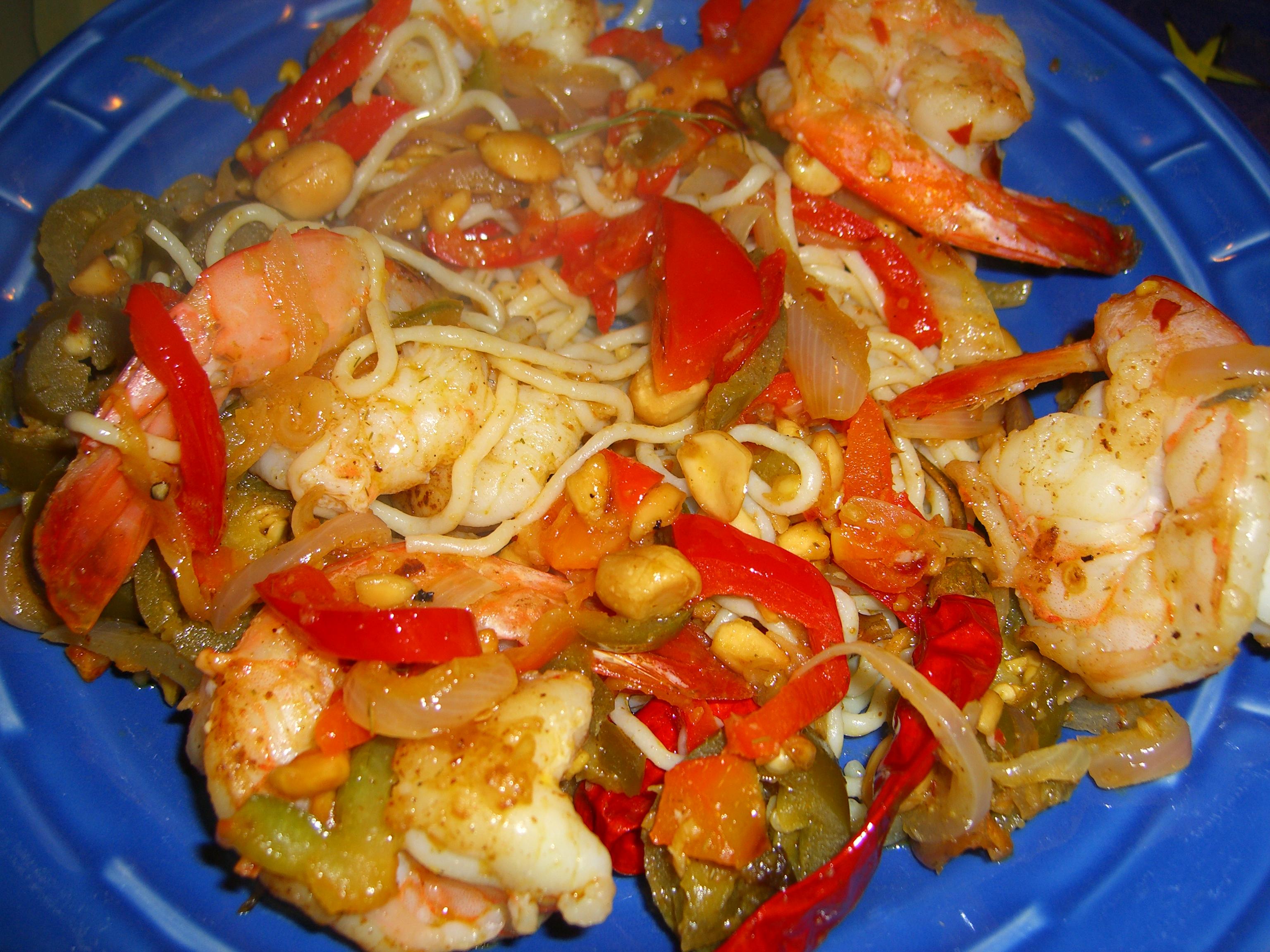 Lemongrass Shrimp Recipe — Dishmaps