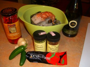 Mexican Seafood Soup Ingredients