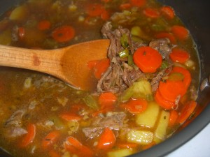 Beef Brisket Vegetable Soup Recipe