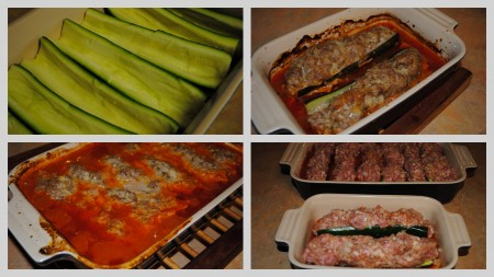Easy Pork Stuffed Zucchini Recipe