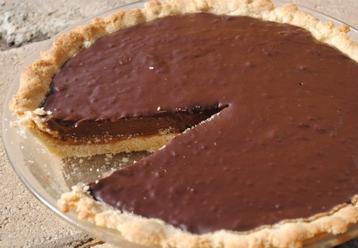 Chocolate Peanut Butter Cream Pie Recipe