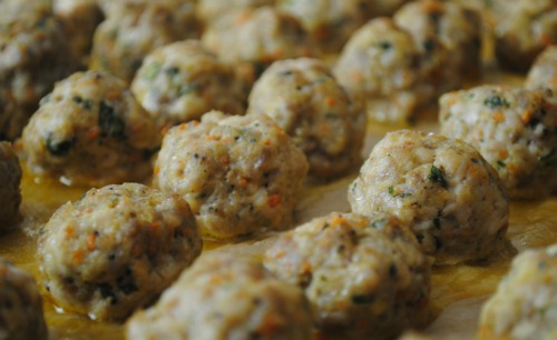 Simply Dressed Meatballs Recipe