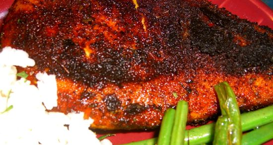 Blackened Chicken or Vegetable Recipe