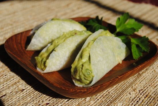 Recipe for Guaco Taco Grain-Free Finger Foods