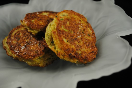 Recipe for Gluten Free Zucchini Fritters