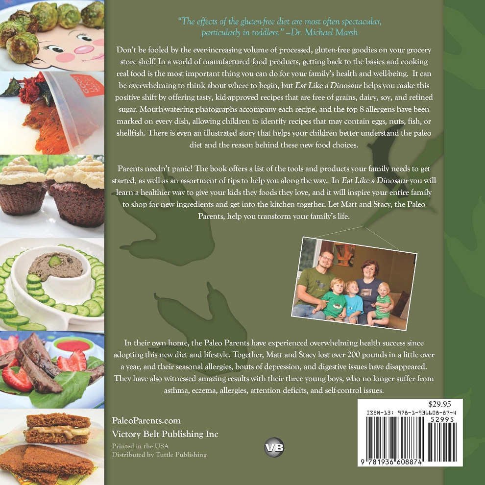 Food Book Cover Reviews : Eat like a dinosaur book review