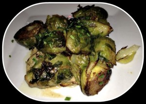 Gluten Free Garlic Brussels Sprouts The Misfit