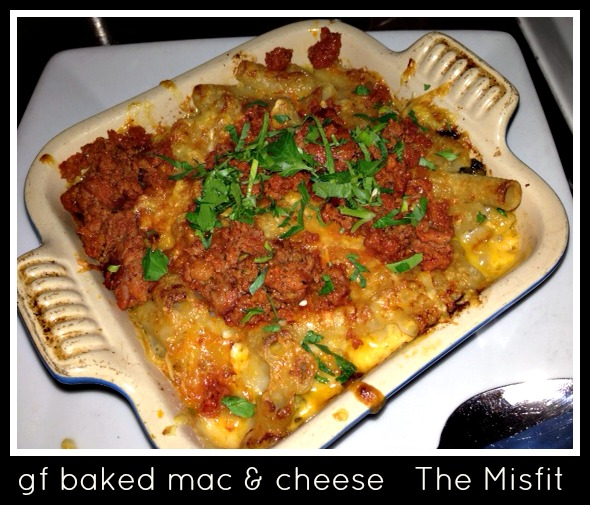 gluten free mac and cheese The Misfit