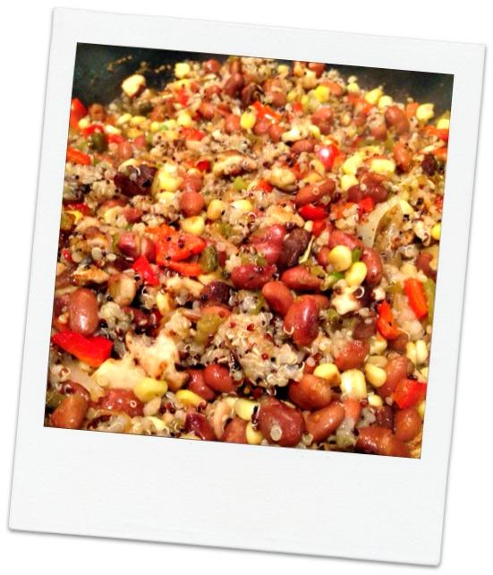Vegetarian Mexican Burrito Filling