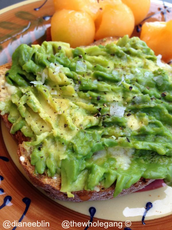 Avocado Toast Diane Eblin